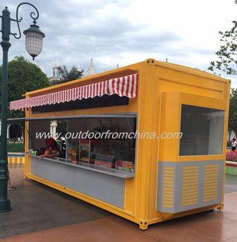 Newest outdoor coffee kiosk design coffee kiosk buy for Garden kiosk designs