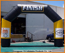 inflatable finish line archway, inflatable angular tube arch