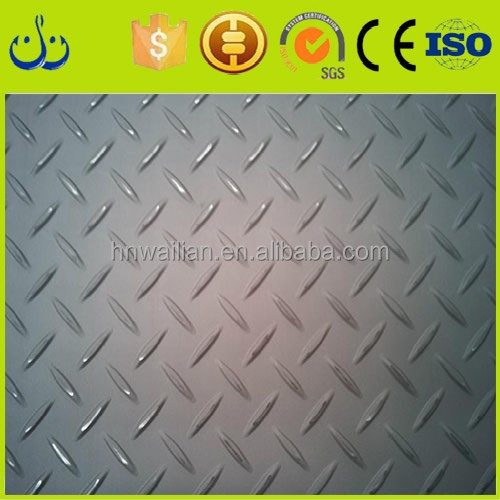 Hot rolled steel coil price per ton tear drop checkered steel coil