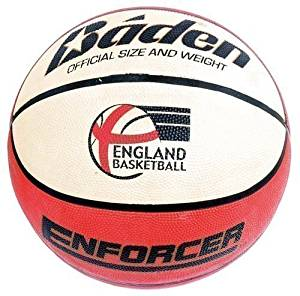 New Baden Br757 Enforcer Basketball Deluxe Rubber Cover Wide Channel Ball Size 7 by Baden