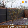 Prefab wall boards wpc garden house wall siding with embossed surface