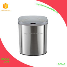 high quality popular stainless steel sensor 6L trash can