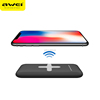 2017 AWEI P98K Super Thin Portable QI Standard Wireless Charging Pad Charger Power Bank