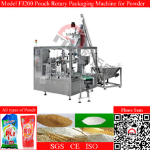 Stand Pouch Washing Powder Automatic Packaging Machine