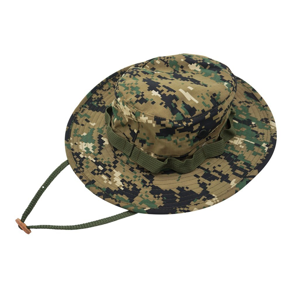 ff768b9979b Get Quotations · Sunward Outdoor Boonie Hat Waterproof Hiking Hat  Backpacking Trip Camouflage Hat