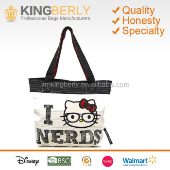 6cefcaf259 Loungefly Hello Kitty Love Nerds Tote Bag
