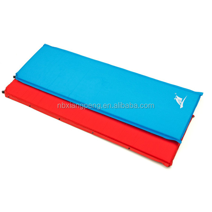 Single Automatic Self Inflating Mattresses Sleeping Pads For Outdoor Camping