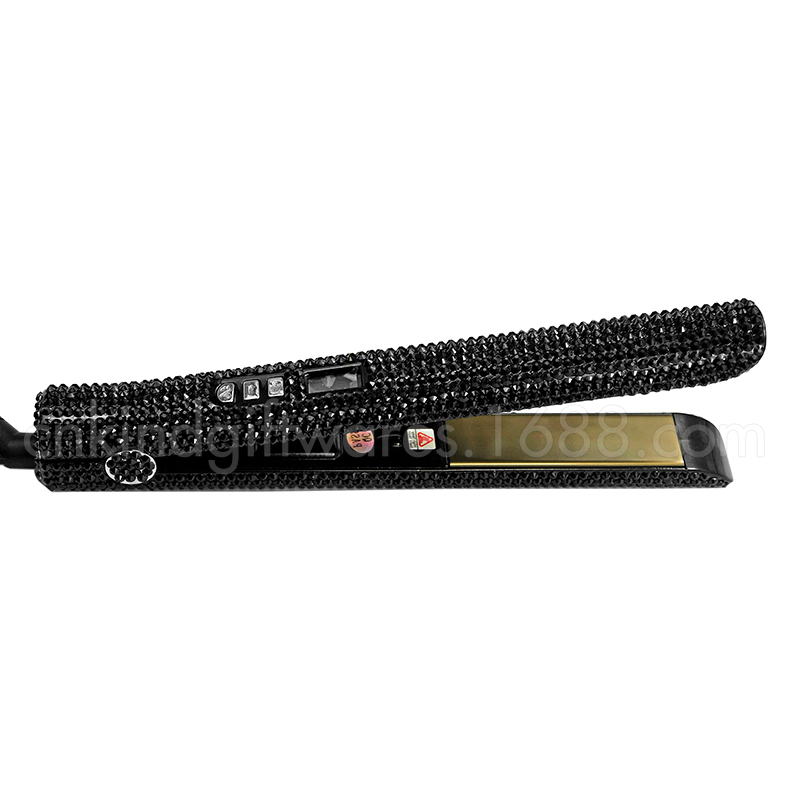 Best Crystal Embellished Personalized Hair Straightener And Curling Hair Flat Iron