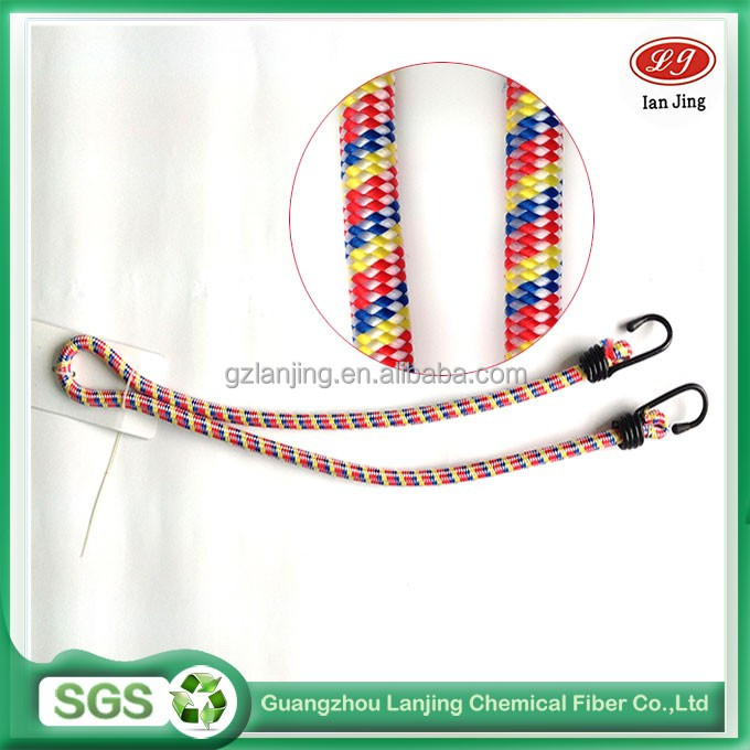 two hooks strong elastic rope for motorcycle rope