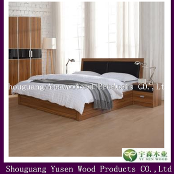 Bedroom Furniture   Wood Bed King Bed Modern Wooden Bed Designs