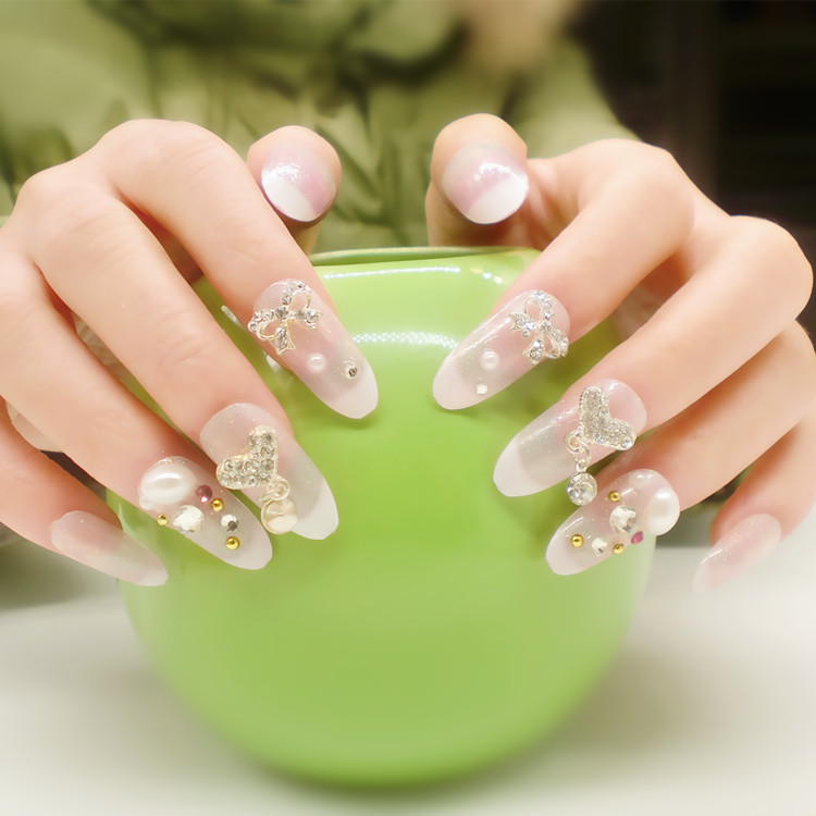 Newair-Popular diseño 3D uñas decoradas ABS cubierta completa del ...