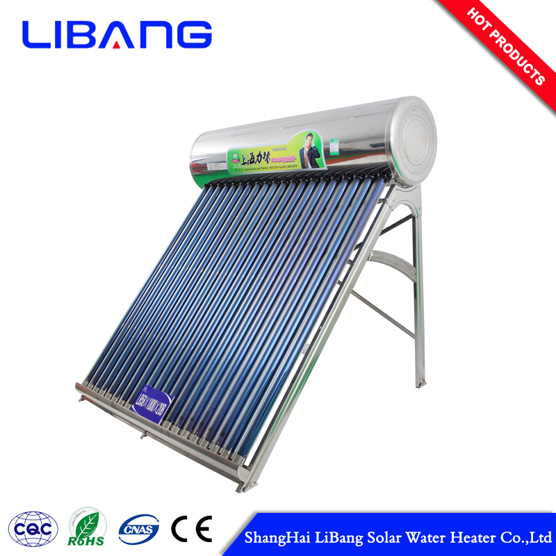 Best selling solar water heater vacuum copper heat pipe