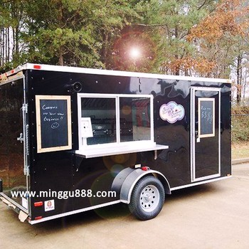 Multifunctional customizable popular Street food trailer
