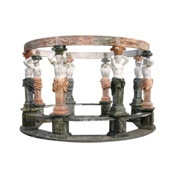 Best Modern Garden Building Ornament Stone Carving Marble Gazebo