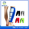 Black Soccer Youth Unisex Shin Guards w Ankle Pads Shin Pads Support Size M