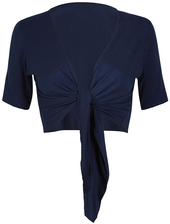 Get Quotations · Purple Hanger PurpleHanger Women s Bolero Top Cropped  Cardigan Shrug 359dec646
