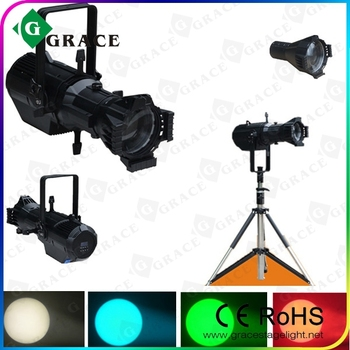 hotsale 2015 new 180w rgbw 4in1 led profile spot light