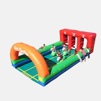 Hot Inflatable Rocking Horse Racing Game/Running Horse Game