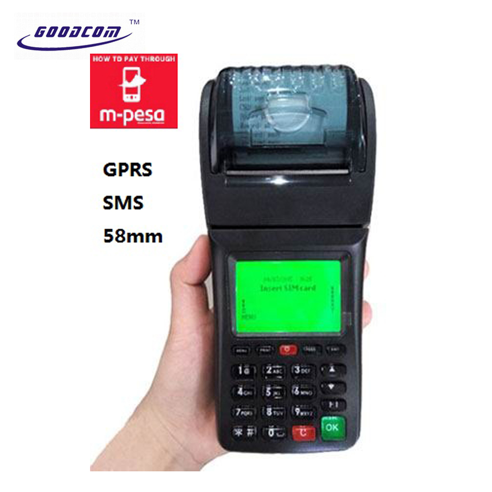 Pos Payment Terminal,Sms Gprs Printer For Mpesa Mobile Payment Sales - Buy  Handheld Pos Terminal,Sms Printer,Pos Terminals With Printer Product on