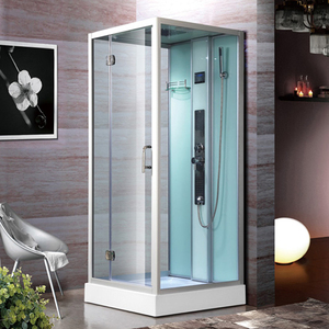 K-5019 Steam Shower Cabin with computer panel and back massager