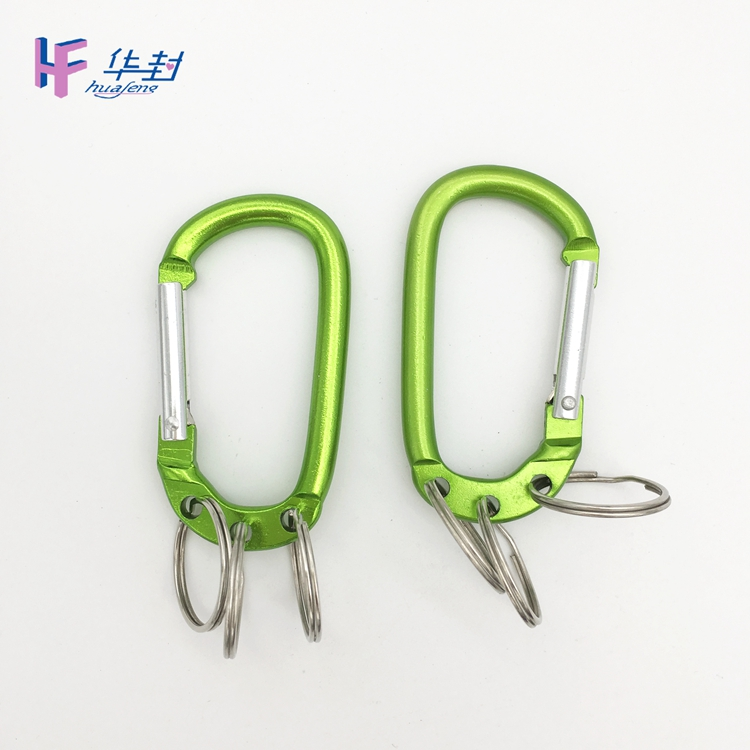 Keychain Square Swivel Carabiner Hook