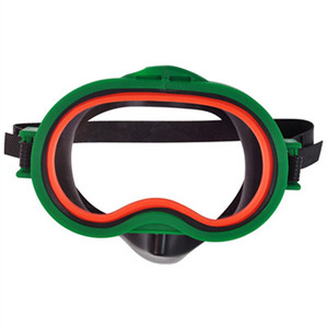 underwater sports eye protector snorkeling mask with nose
