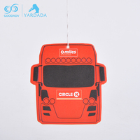 Hot selling Custom Any Shape Made hanging Design Car Scent Air Freshener For Car