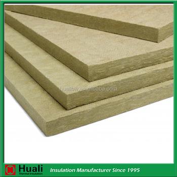 High density 150kg m3 fireproof sandwich panel inside for High density mineral wool