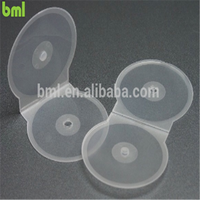 Hot Selling Transparent PP C Shell Single CD Case