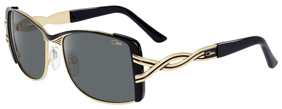 4d6e766fa880 Get Quotations · Cazal 9059 Sunglasses 001 Black-Gold