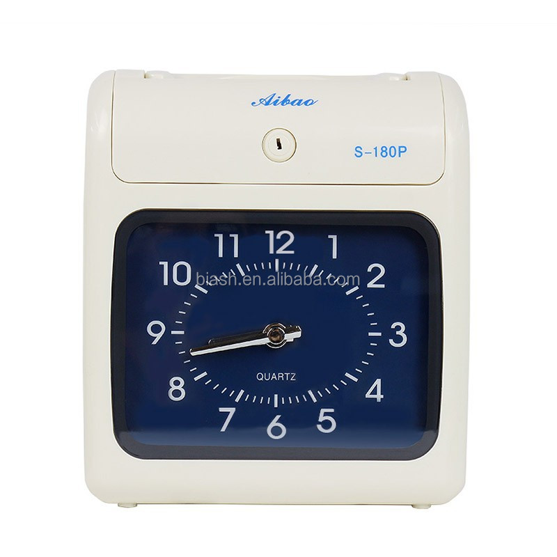 Electronic Time Recorder, Portable Time Recorder, Punch Card Time Clock S-180P