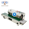 Bespacker FR-770W Automatic high speed continuous compound plastic aluminum foil bag heating sealing sealer machine