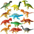 New Arrival 12pcs set Dinosaur Action Figure Toys Children Educational Toy Kids Best Gifts J607