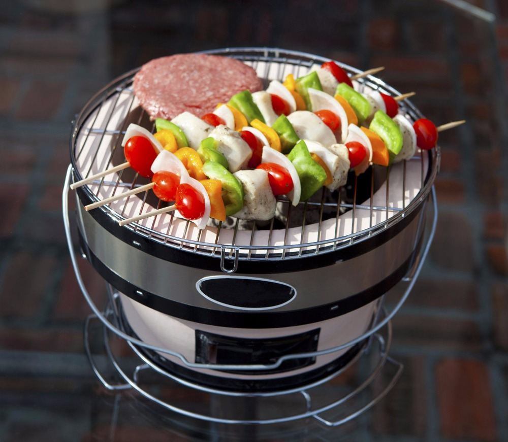 Ceramic Korean & Japanese Style BBQ Barbecue Charcoal Yakatori Grills for Indoor&Outdoor Kitchen Cooking Equipment