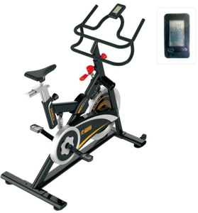 Gym use indoor professional beautiful spinning bike