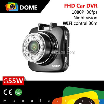Wifi portable HD car balck Box Wifi support dvr camera recorder