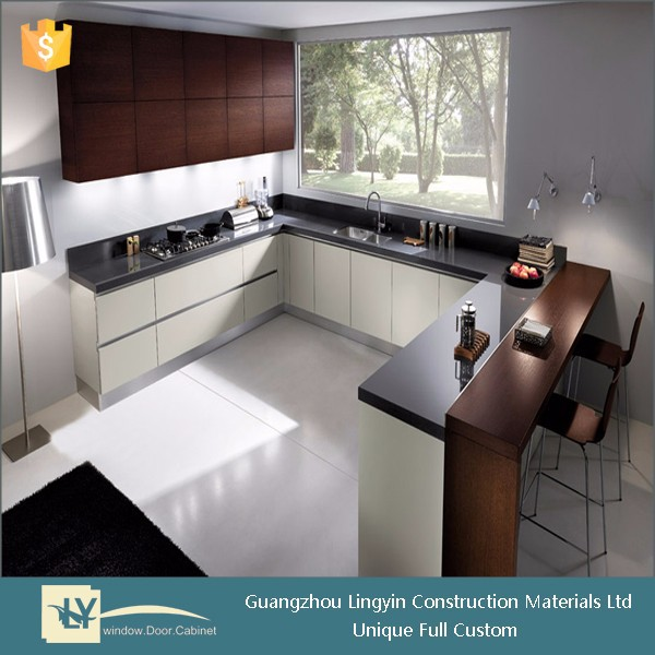 modern simple design custom kitchen cabinets made in china