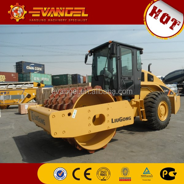 Liugong single drum viberation road roller CLG614 compactor