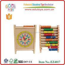 Abacus and Clock Mini Wooden Abacus Beads