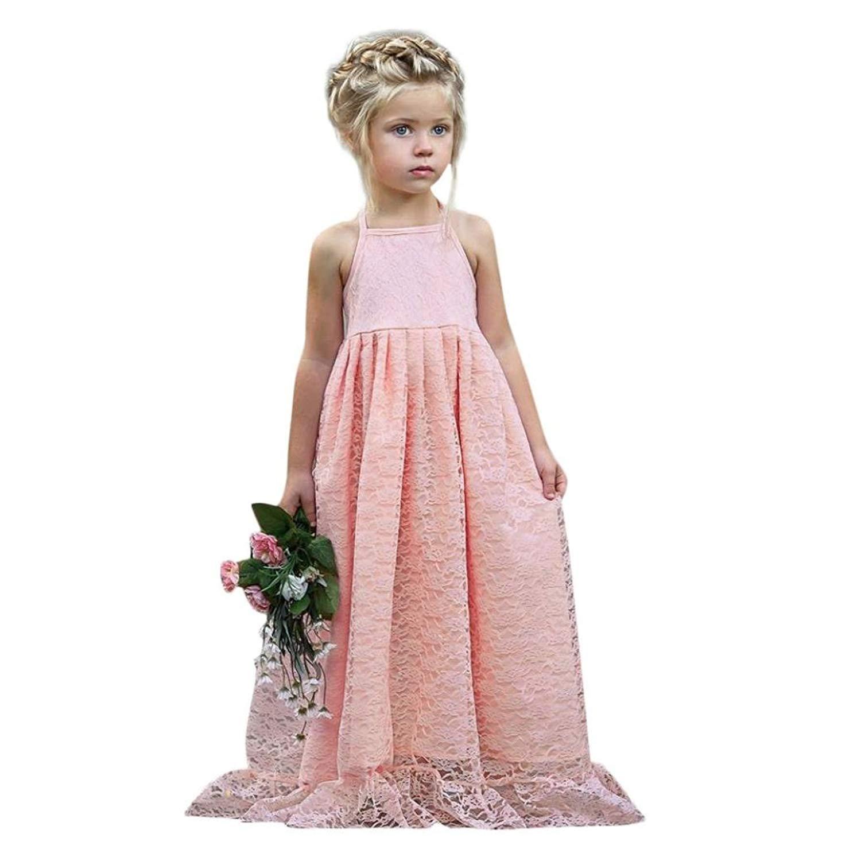 05b1b0923ce Get Quotations · TOOPOOT Children Girls Dress