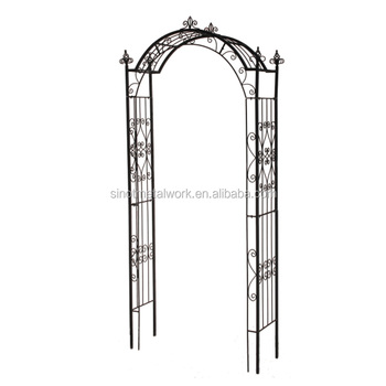 Superbe Vintage Wrought Iron Garden Pergola Metal Rose Arch Steel Garden Arbor    Buy Garden Arches And Arbors,Metal Garden Arbor Sale,Wrought Iron Arch ...