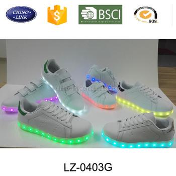 01b019793ab Good pattern pu upper cheap adults couples glow luminous light up led sole  simulation sneakers skate