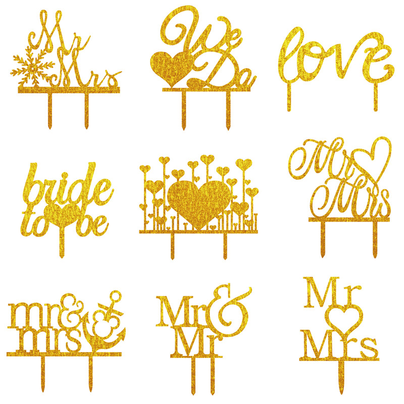customized Personalized various style laser cut party decoration happy birthday acrylic cupcake topper <strong>wedding</strong>