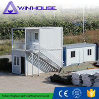 Low Cost Prefab Modern Bed Accomodation Cheap Container Home
