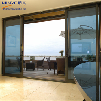 Large design sliding patio door big glass exterior door - Oversized exterior doors for sale ...