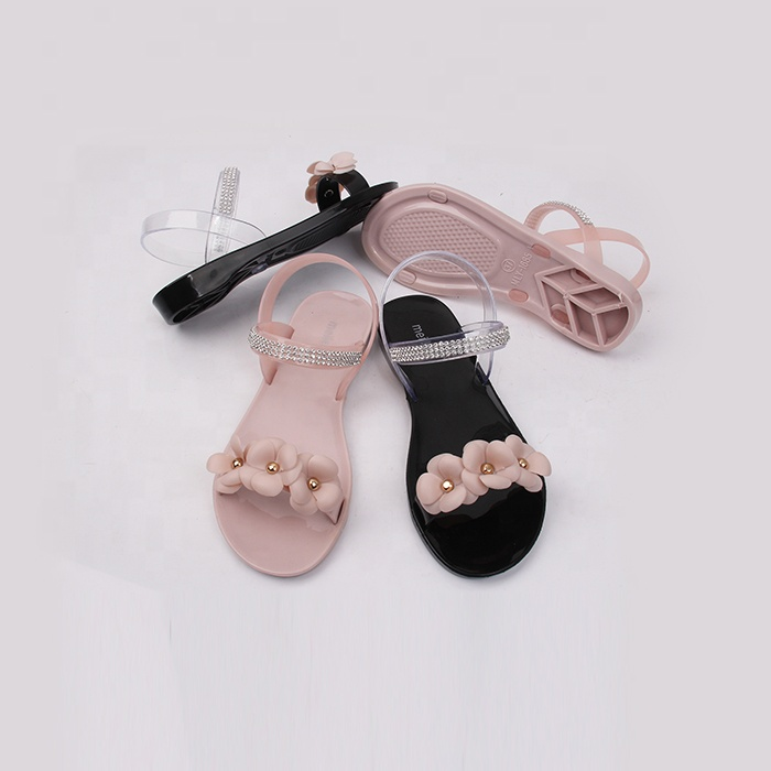 Nice Plastic Jelly Sandals For Women