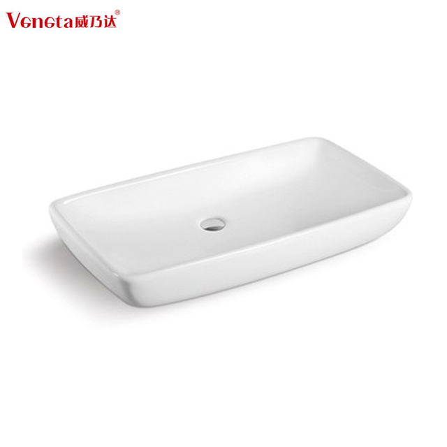 Hgh quality hot sale ceramic bathroom portable sink unit without faucet