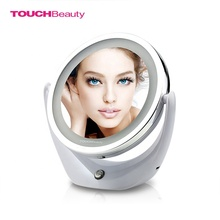TOUCHBeauty TB-1276 (High) 저 (Quality Chrome Finish 두 번 Sided Led <span class=keywords><strong>빛</strong></span> 메이 컵 Mirror