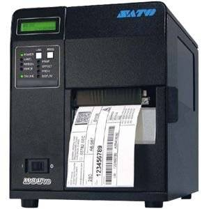 """Sato WM8420111 Series M84PRO Industrial Thermal Printer, 203 dpi Resolution, 10 ips Print Speed, Parallel Interface with Cutter, DT/TT, 4.1"""""""