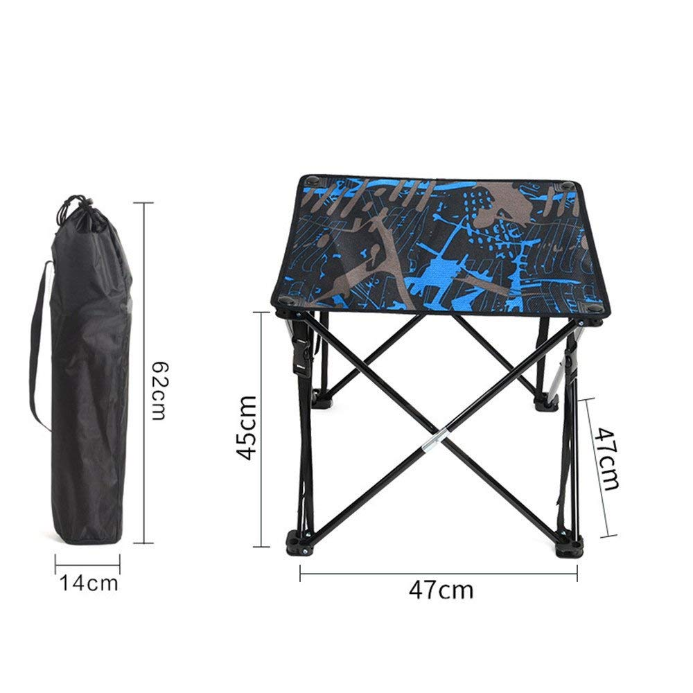 RFVBNM Outdoor folding table Lightweight iron table portable lightweight folding table barbecue stall camping